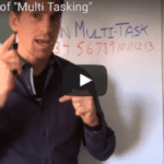 "How to avoid the danger of ""Multi Tasking"""